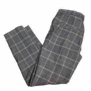 34 H&M Plaid Pants Regular Fit Stripped Pattern